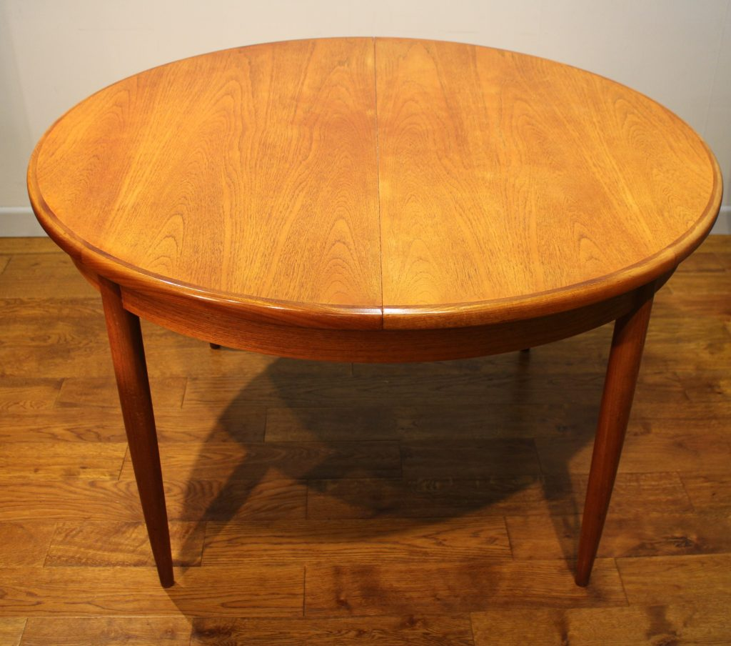 how to clean teak dining table