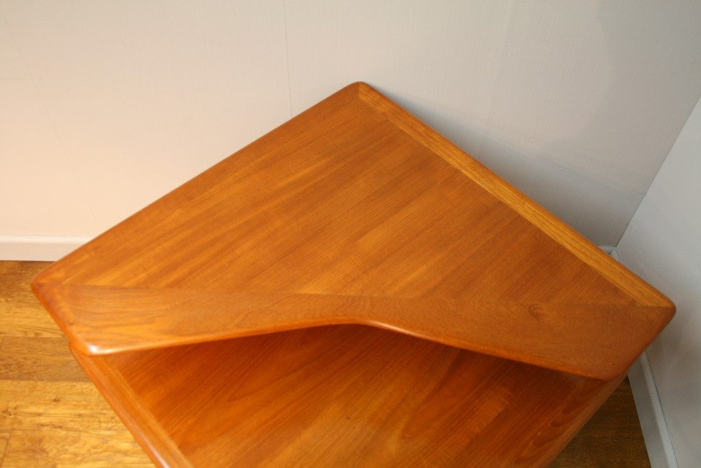 Peter Hvidt Teak Corner Table Minerva 1960s Vintage Retro