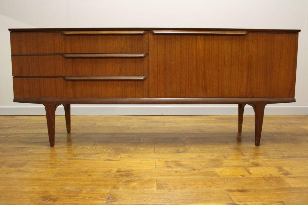 1960s vintage hubbinet teak sideboard vintage retro. Black Bedroom Furniture Sets. Home Design Ideas