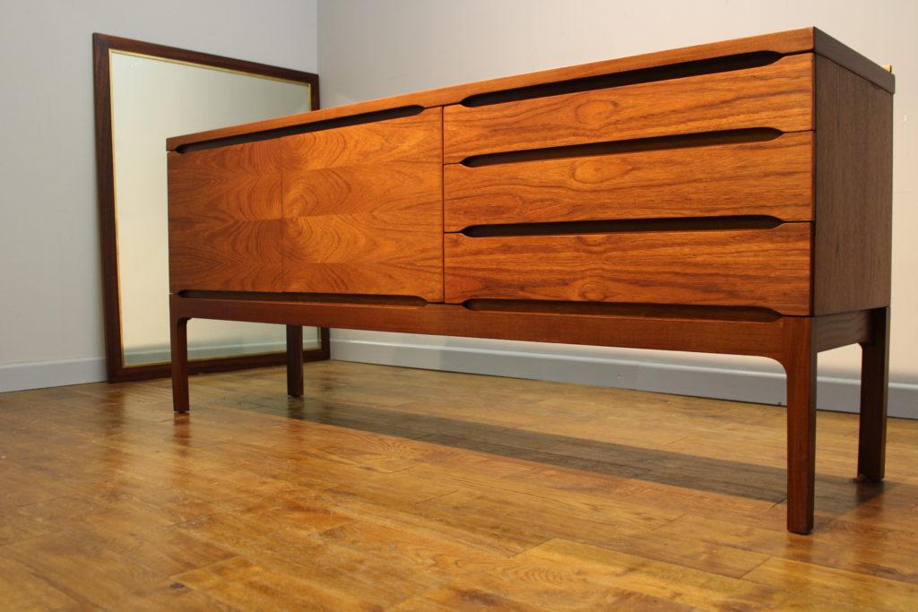 Rare Meredew Late 1960s Teak Sideboard Vintage Retro
