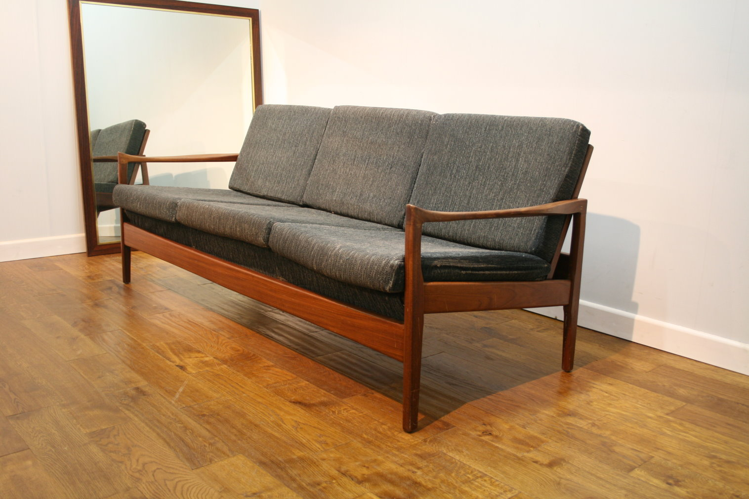 60s Greaves And Thomas Style Teak Sofa For Re Upholstery
