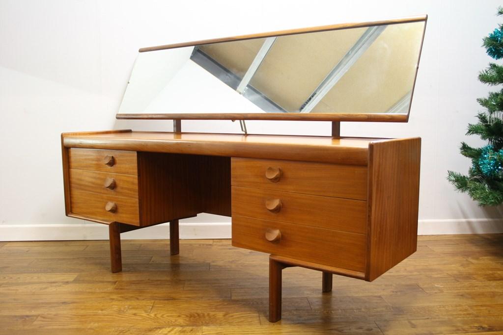 White And Newton Teak 60s Dressing Table Vintage Retro