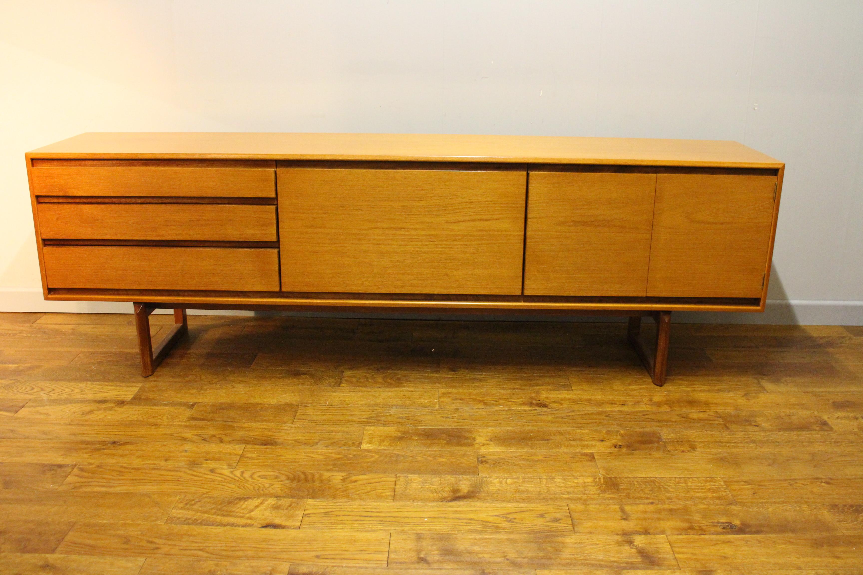 the westbourne teak sideboard by white newton vintage. Black Bedroom Furniture Sets. Home Design Ideas
