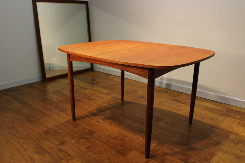 Scarce G Plan 1960s Teak Extending Dining Table With Removeable Legs Vintag