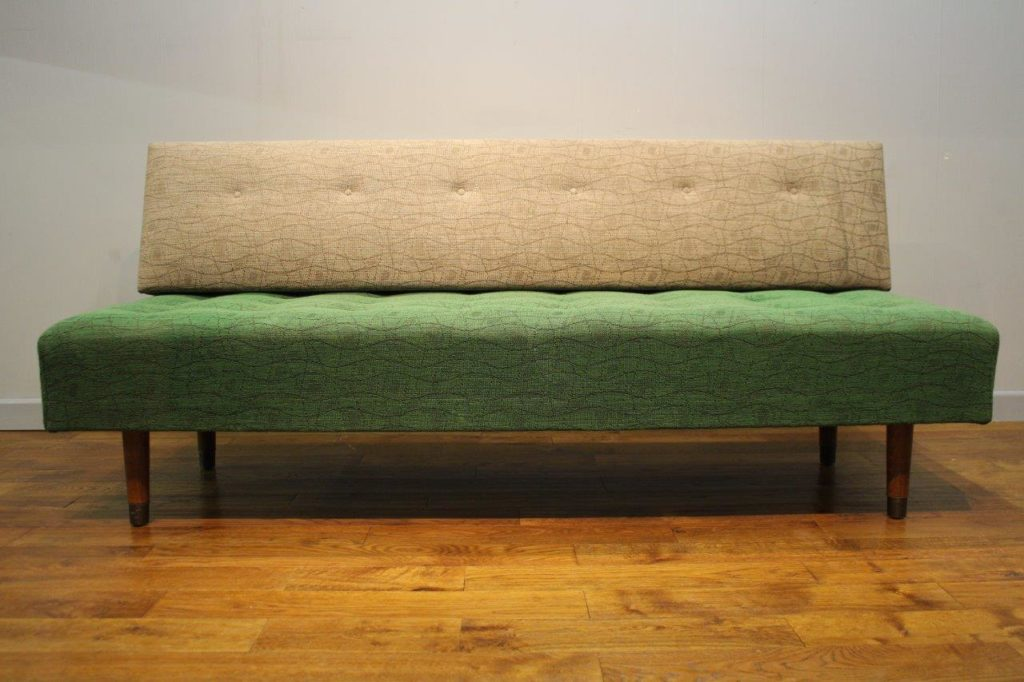 Vintage danish daybed vintage retro for Sofa 4 meter