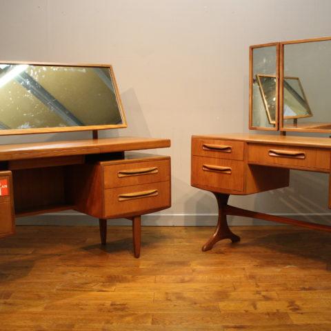 G Plan Fresco Teak Dressing Tables Designed By Victor