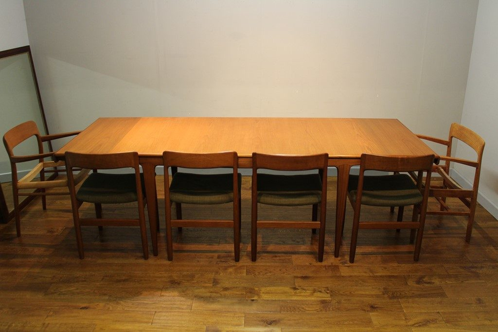 A Younger 810 seat Sequence teak dining table c 1968  : a younger large sequence teak dining table 1 1024x683 from www.vintageretro.co.uk size 1024 x 683 jpeg 98kB