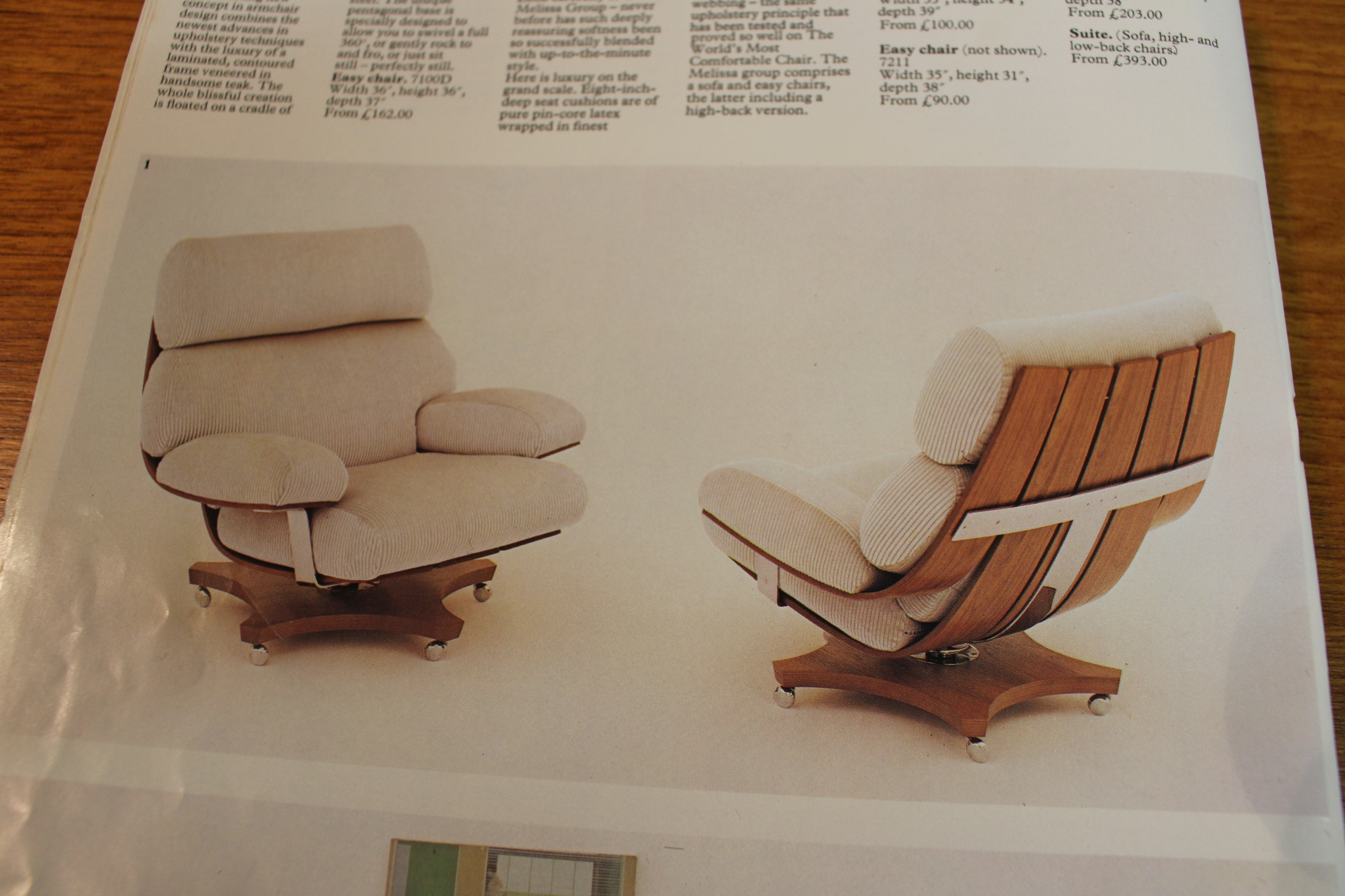 We buy G Plan Housemaster chairs for re-upholstery - Vintage Retro
