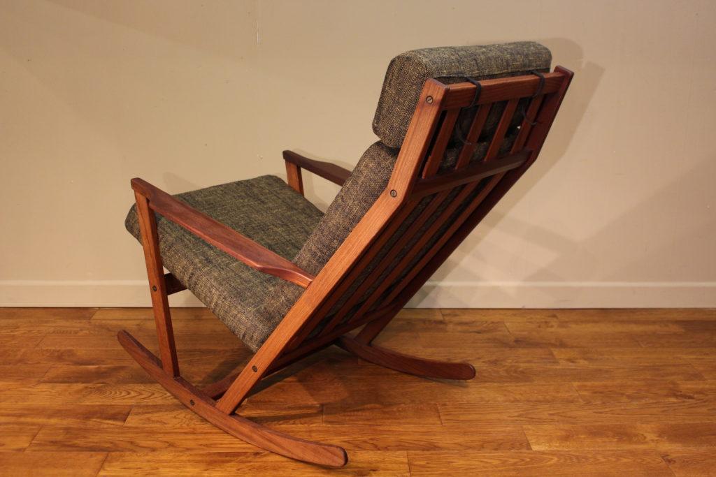 Frem Rojle Teak Rocking Chair Designed By Poul Volther